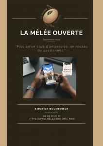 Septembre 2021 Gazette Numérique 2021 La Mêlée Ouverte